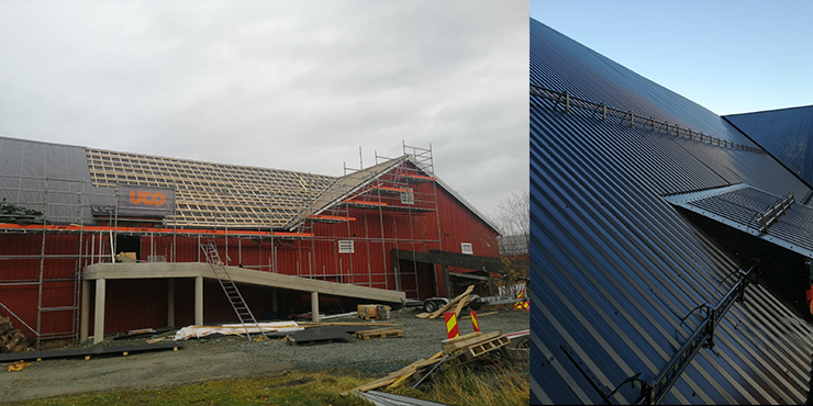 Renovering av tak